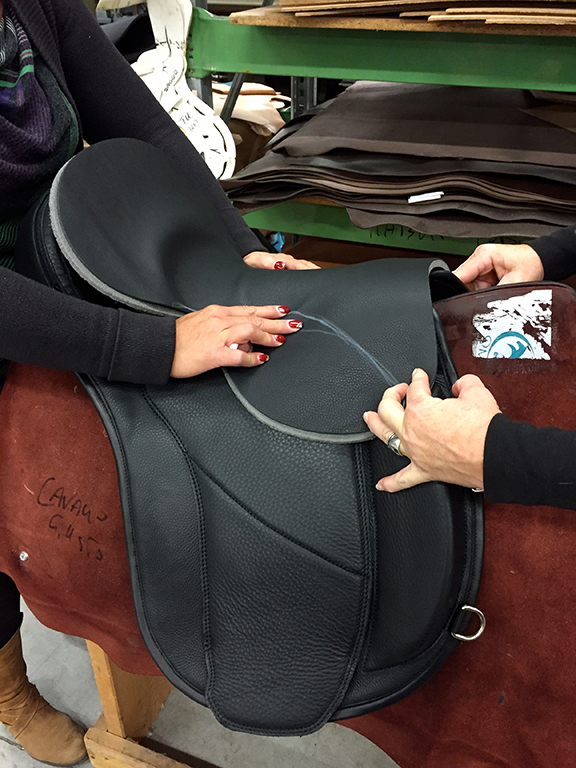working on the new saddle designSM