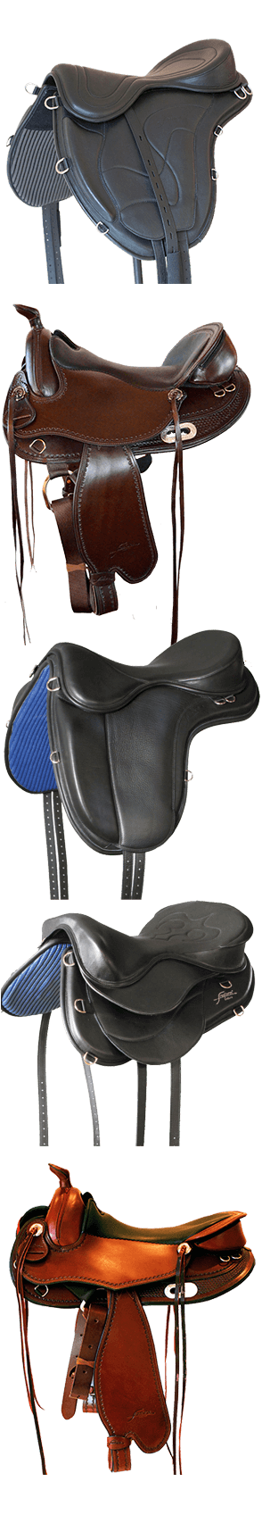 Treeless Saddles for Trail, Endurance & Dressage - Saddle Up
